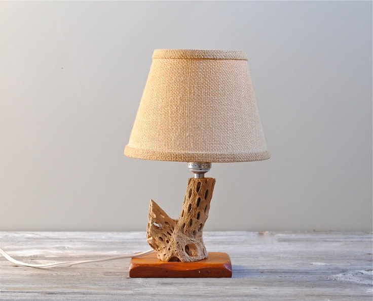 40 best cholla cactus crafts images on pinterest antler for Crafting wooden lamps
