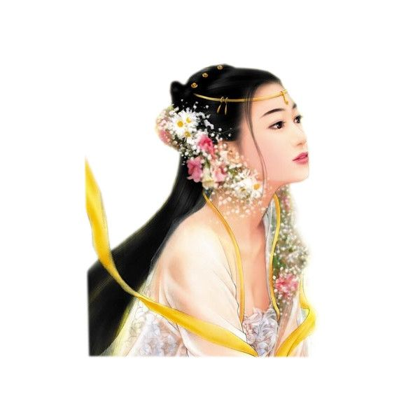 tubes femmes ❤ liked on Polyvore featuring asian, faces, people, women and oriental
