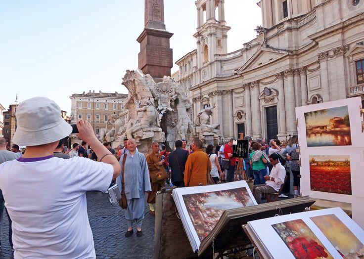 Tourist traps in Rome
