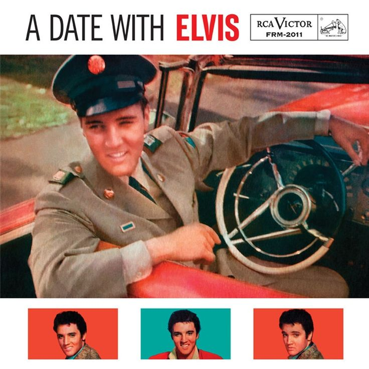 Elvis Presley - A Date With Elvis on Limited Edition 180g LP