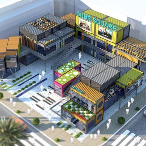outdoor #foodcourt in Ajman DUBAI