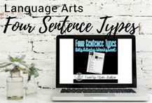 Links to resources to teach the Four Sentence Types for Jr. High/Middle School students: explainer video, Bits and Bobs worksheet, Digital Escape Room, and Interactive Notebook pages.