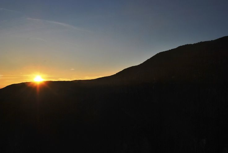 Sun rise - Mt Gede