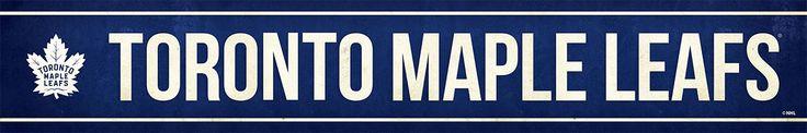 Toronto Maple Leafs Street Banner $19.99