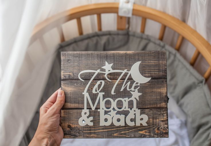 Wedding Valentine's day Gift for her Best gift for girlfriend Gift for him Best gift for boyfriend Wall decor To the moon and back