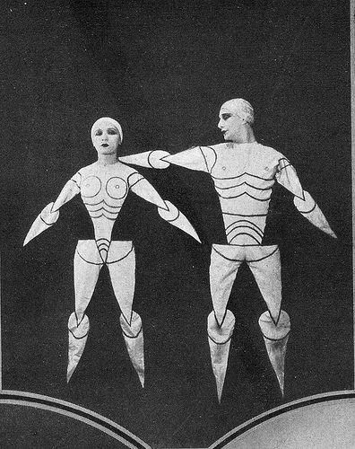bauhaus theater costumes