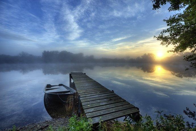 Pond Trebon, South Bohemia, Czech Republic