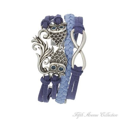 Antique Silver Bracelet - Blue Whimsey - Australia - Fifth Avenue Collection - Jewellery that changes the way you see fashion