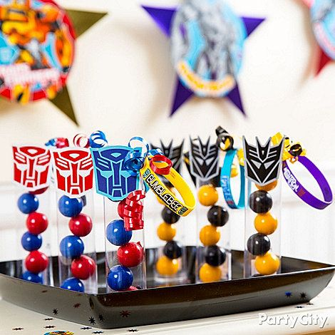 Transformers Party Ideas: Food - Click to View Larger