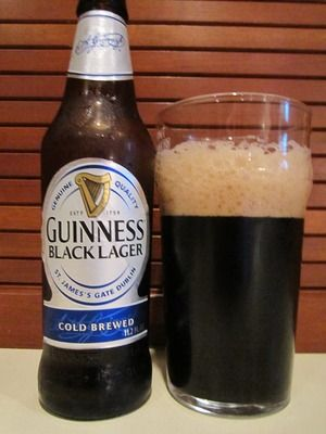 I'll admit I'm curious to try Guinness' Lager.