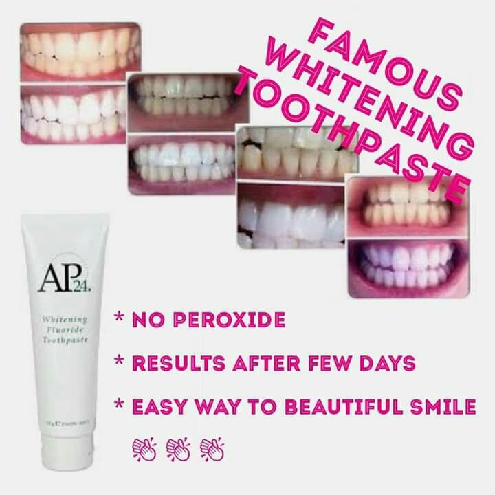 Beautiful smile :) - no bleach, no peroxide, non abrasive - safe patented formula - really quick results ... message me for yours :)  :)  :)  #whiteteeth  #beautifulsmile  #whiteningtoothpaste