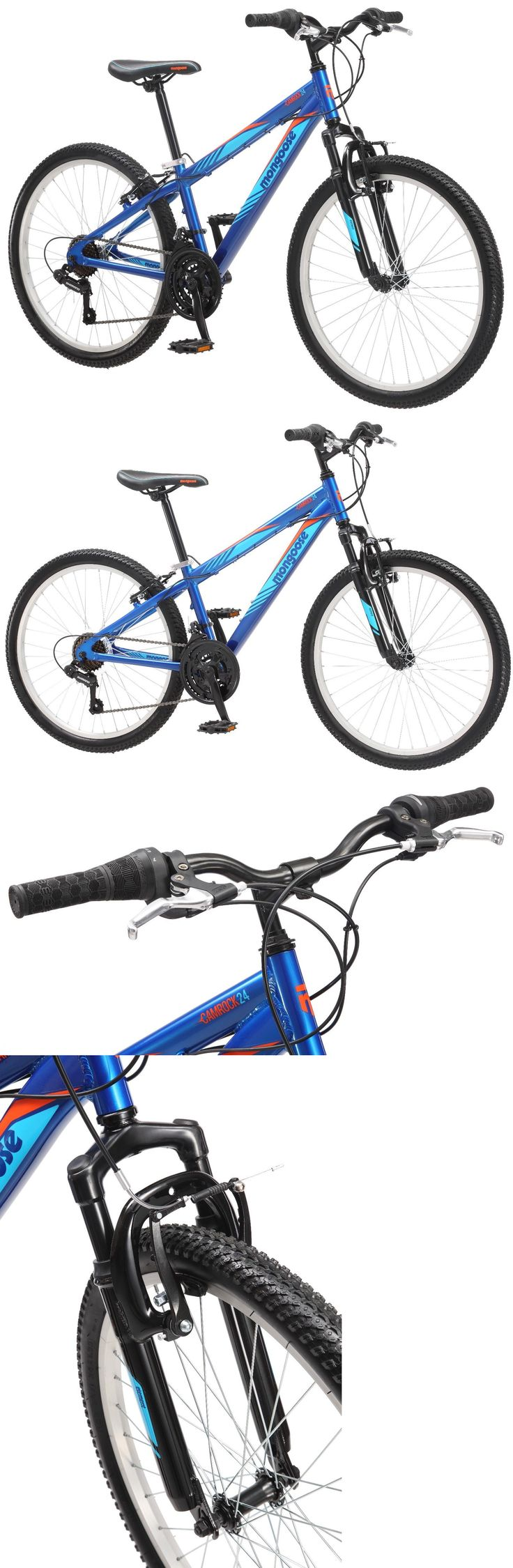 bicycles: 24 Mongoose Camrock Boy S Mountain Bike, Blue -> BUY IT NOW ONLY: $109.99 on eBay!