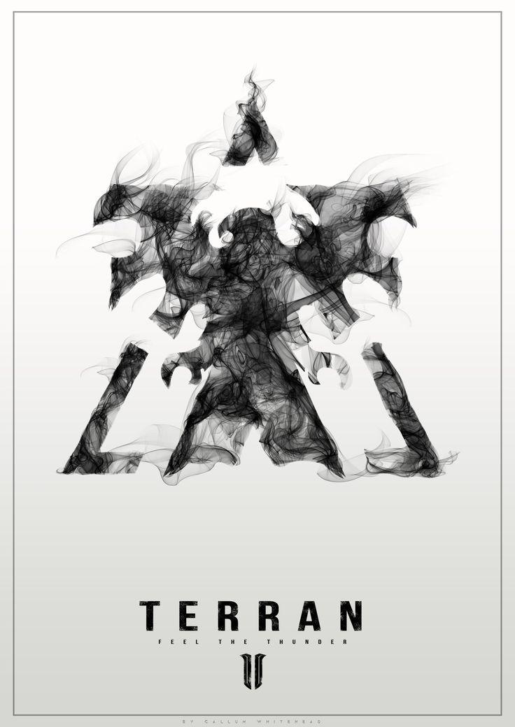 #Starcraft #videogames #heartoftheswarm #zerg #posters #Art #Geek #Callum #Whitehead