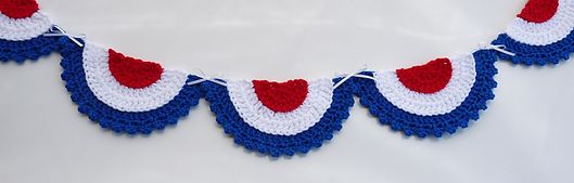 Ravelry: Patriotic Bunting pattern by Doni Speigle