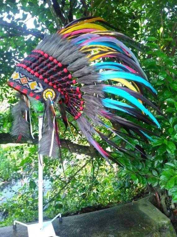 PRICE REDUCED Indian style Headdress for kid/child Kids