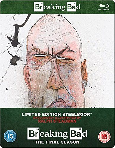 Breaking Bad: The Final Season - Zavvi Exclusive Limited Edition Steelbook (Includes UltraViolet Cop @ niftywarehouse.com