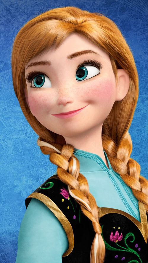 *PRINCESS ANNA ~ Frozen, 2013
