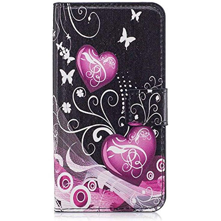 NUOVO Antiurto Portafoglio di Pelle Flip Stand Custodia Cover per Samsung S7 EDGE S8 J3