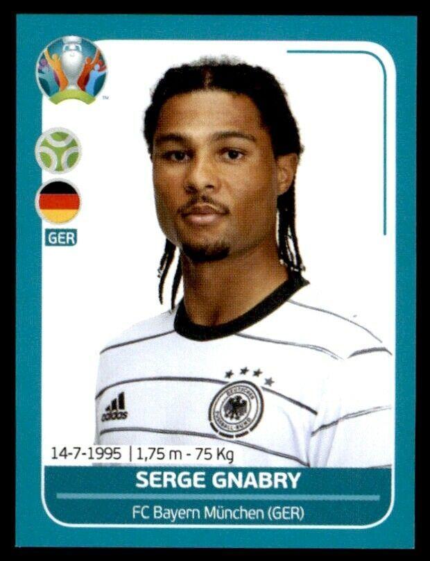 Panini Uefa Euro 2020 Preview Serge Gnabry Germany No Ger27 Deutsche Fussballer Deutsche Fussballnationalmannschaft Fussballer