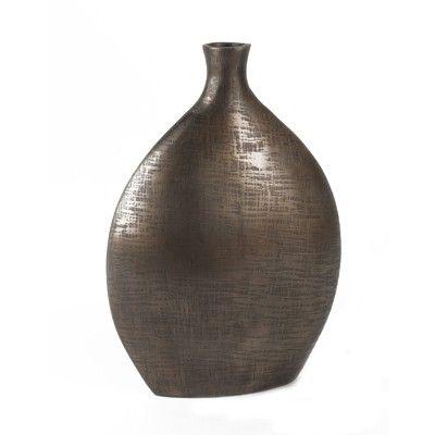 Black Nickel Vase Medium from www.designarthouse.com.au.  Black Nickel Vase