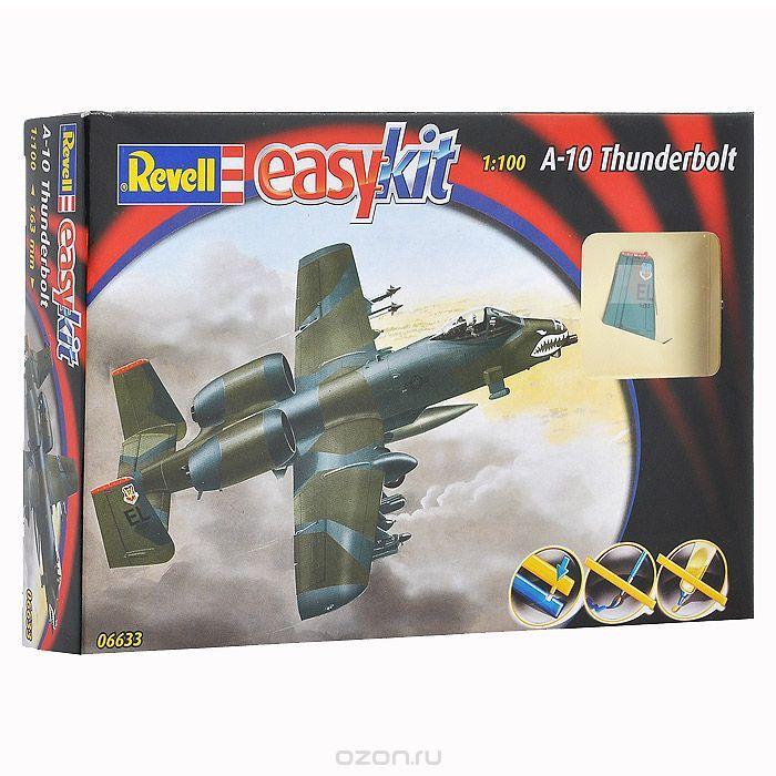 Сборная модель Военный самолет A-10 Thunderbolt