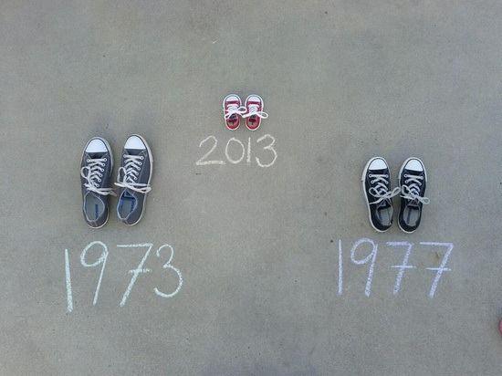 Guarda cierta similitud al anterior, pero puedes usar tiza, pintura o simplemente escríbelo en papel y lo pegas al suelo.