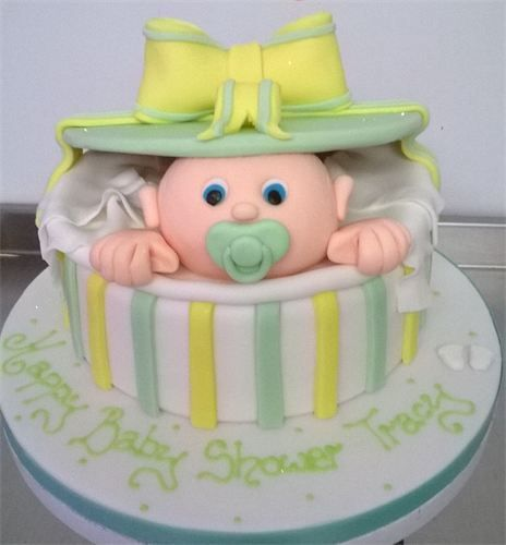 unisex baby shower cakes - Google Search