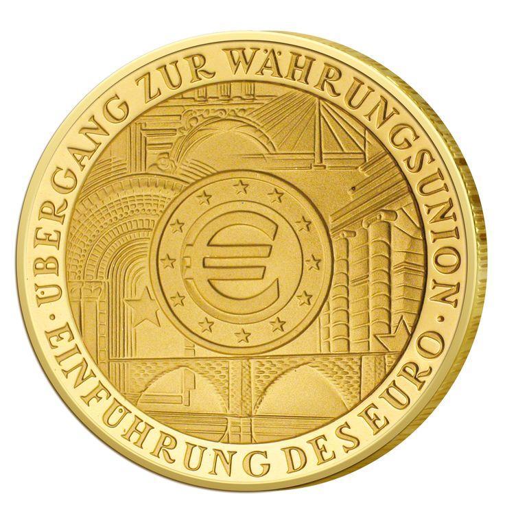 BRD 100 Euro 2002 Übergang zur Währungsunion - Einführung des Euro