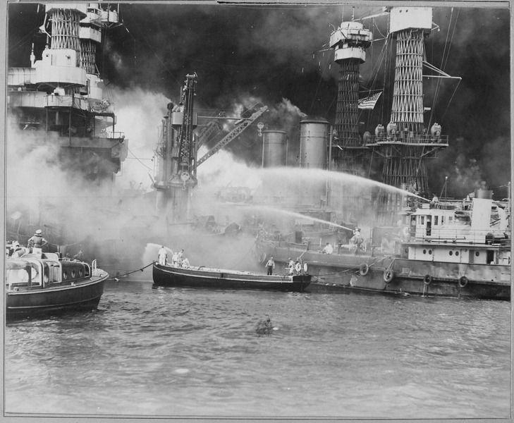 Pearl Harbor on December 7, 1941.
