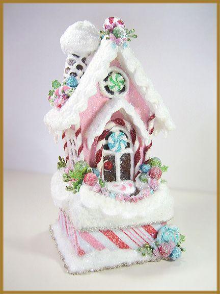 Gingerbread House Cake Topper
