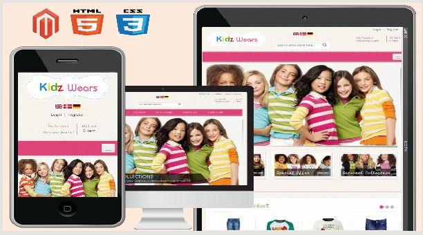 Kids Store Magento Theme