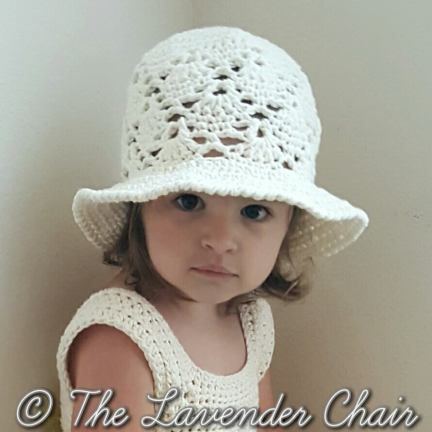 Vintage Sun Hat Free Crochet Pattern - The Lavender Chair