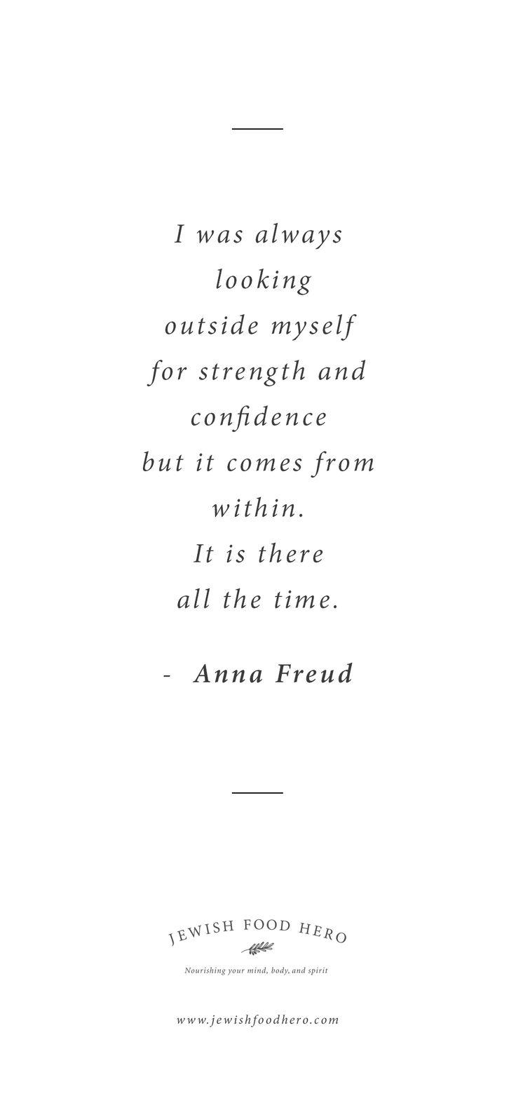 Anna Freud Quotation