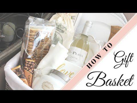 How To Create a Honeymoon Basket | Easter & Gift Basket Tips | PLUS Wedding Tips - YouTube