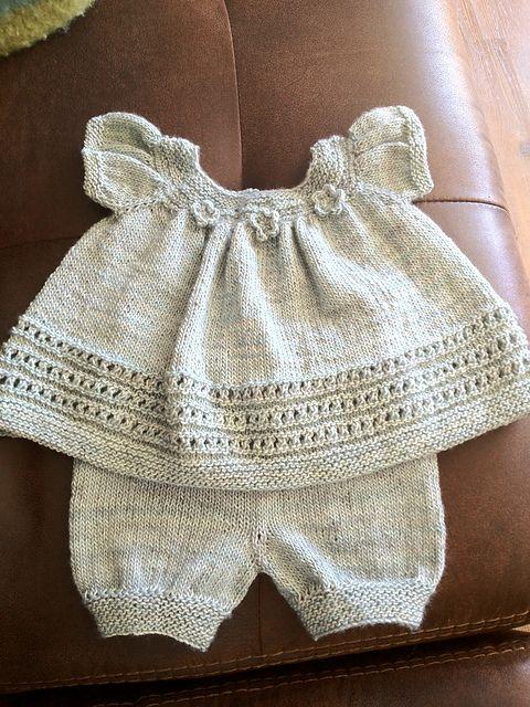 Ravelry: Project Gallery for Sweet Baby Dress pattern by Nancy Pietraszek