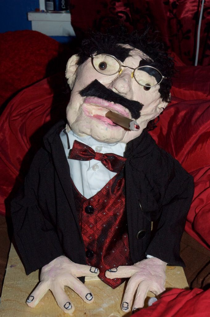 Groucho Marx puppet