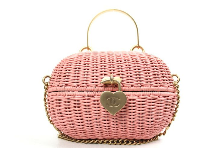 -Chanel, pink rattan basket shoulder  http://www.malleries.com/search.php?action=search_keyword=Authentic%20Chanel%20Pink%20Rattan%20Basket%20Shoulder%20Bag%20Rare=723f59c5d08742caf882486423db2f82#img2