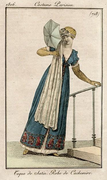Toque de satin - Robe de Cachemire - 1806