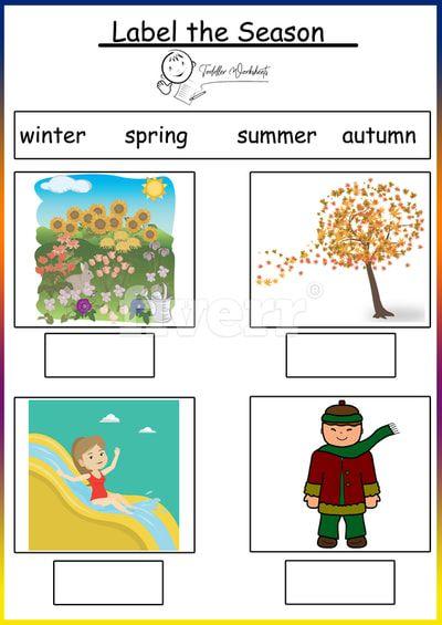 weather and season worksheet doc