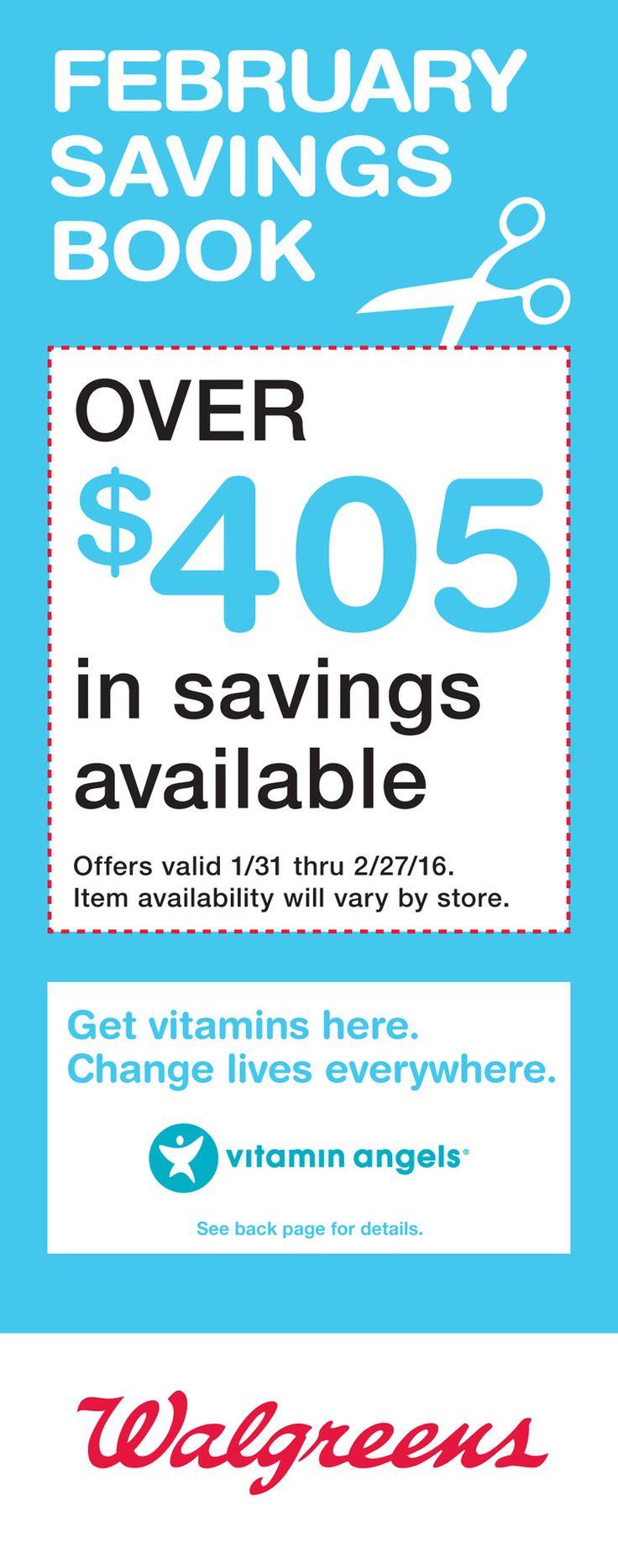 Walgreens Savings Book January 31 - February 27, 2016 - http://www.kaitalog.com/walgreens-savings-book.html