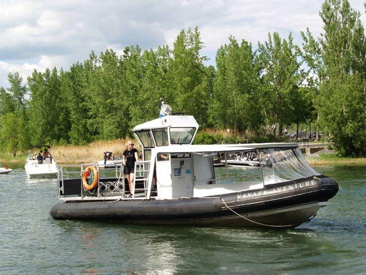 Navark Expédition| Navette fluviale entre l'Île Charron - Longueuil http://navark.ca/navettes.html