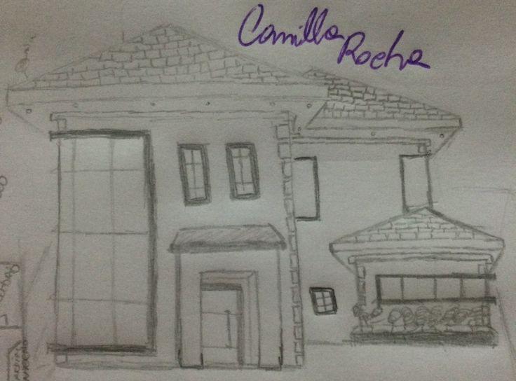 Mais uma fachada criada. By: Camilla Rocha.
