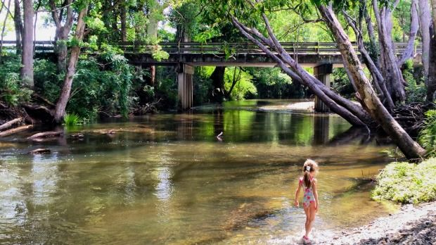 The river is clean and inviting, the countryside lush, the food healthy – yet tasty. This really is alternative town is a little slice of heaven.