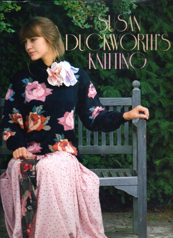 Country Notions - Susan Duckworth's Knitting - 1988 Book, $14.95 (http://www.country-notions.com/susan-duckworths-knitting-1988-book/)
