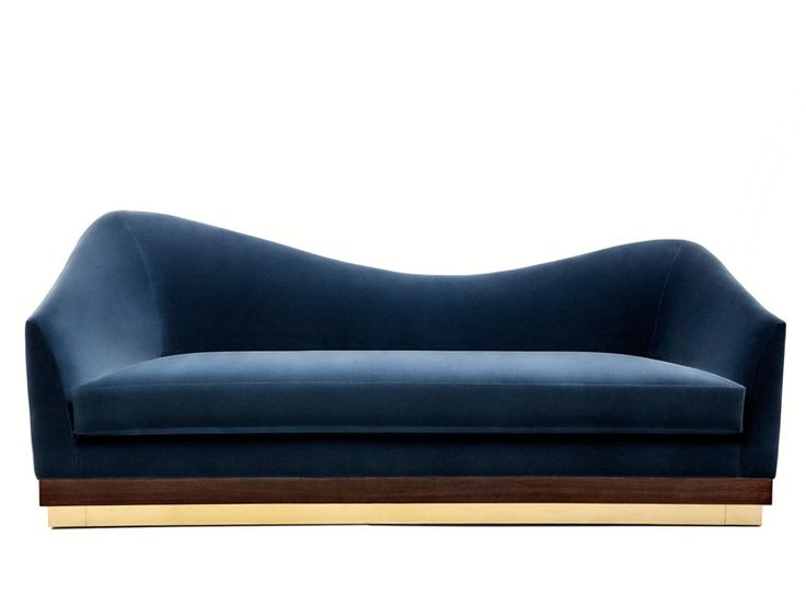 sexy. // Upholstered velvet sofa HUGHES Time Collection by Munna