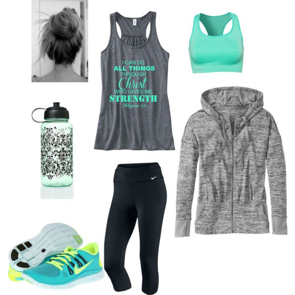 A fashion look from September 2013 featuring Athleta, NIKE and Pure Lime sports bras. Browse and shop related looks.