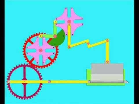 Double Geneva Mechanism - YouTube