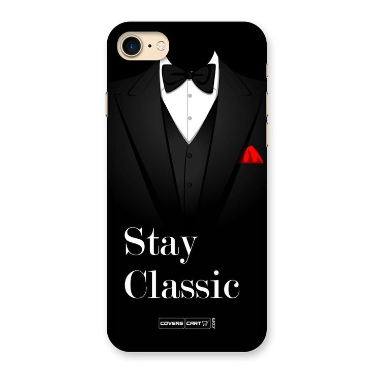 Stay Classic Back Case for iPhone 7 | Mobile Phone Covers & Cases in India Online at CoversCart.com