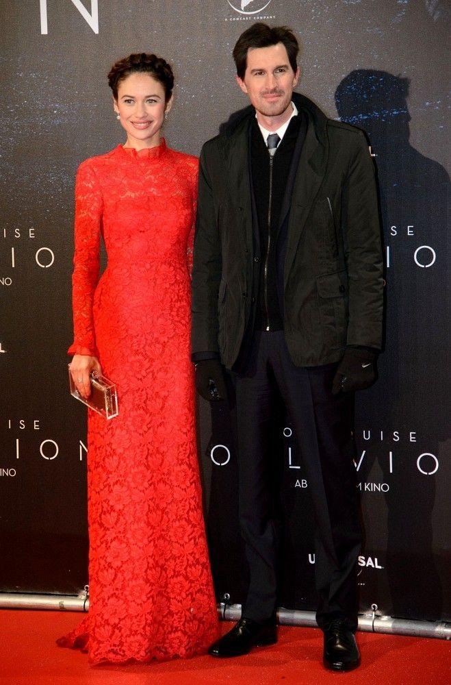 Olga Kurylenko Evening Dress - Olga Kurylenko Dresses & Skirts - StyleBistro, Valentino