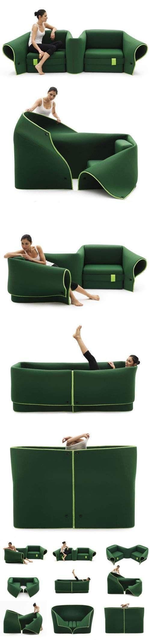 Mira todas las posibilidades que tienes para transformar esta silla. Todo en uno.